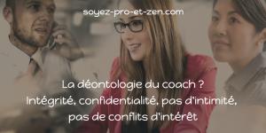 Déontologie du coach