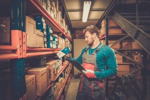 Batiment et management visuel - Lean - Stockage